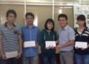 Trao học bổng tháng 6/2014