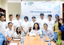Lễ trao học bổng Vietnam Education Fund 2019